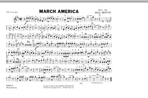 March America - Eb Cornet (Marching Band)