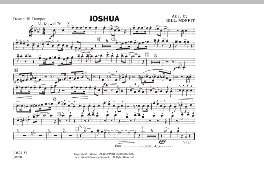 Joshua - Descant Bb Trumpet (Marching Band)
