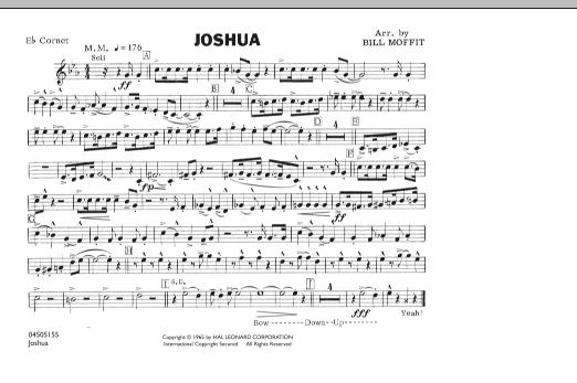 Joshua - Eb Cornet (Marching Band)