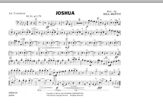 Joshua - 1st Trombone (Marching Band)