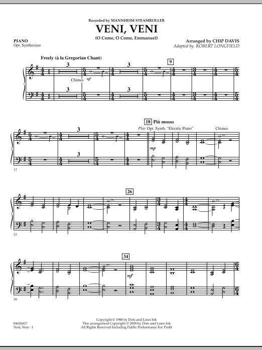 Veni, Veni (O Come, O Come Emmanuel) - Piano (Orchestra)