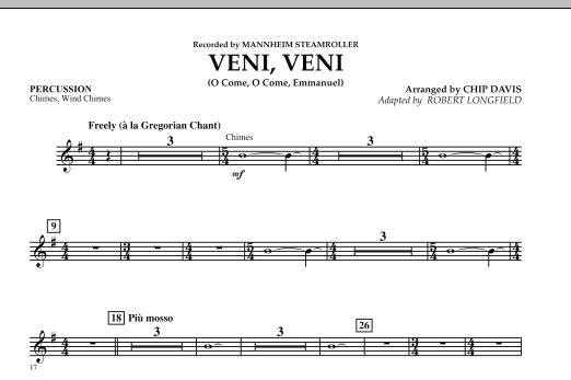 Veni, Veni (O Come, O Come Emmanuel) - Percussion (Orchestra)