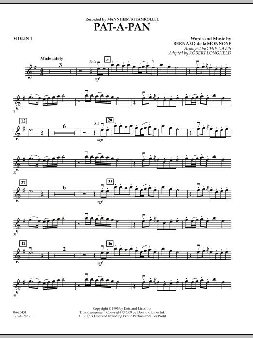 Pat-A-Pan - Violin 1 (Orchestra)
