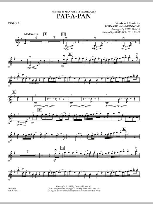 Pat-A-Pan - Violin 2 (Orchestra)