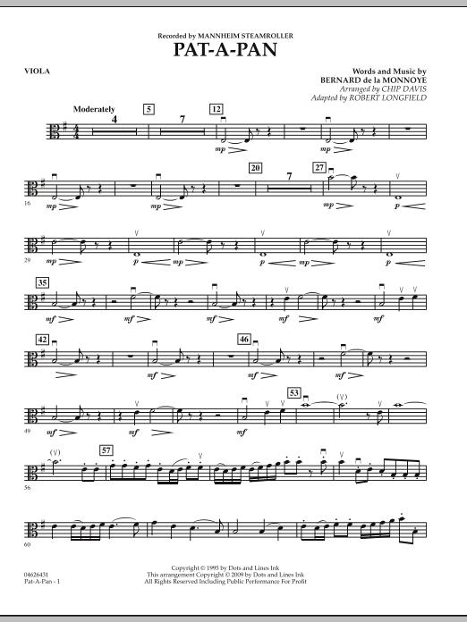 Pat-A-Pan - Viola (Orchestra)