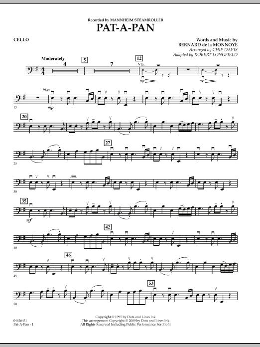Pat-A-Pan - Cello (Orchestra)
