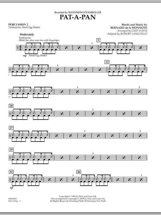 Pat-A-Pan - Percussion 2 (Orchestra)