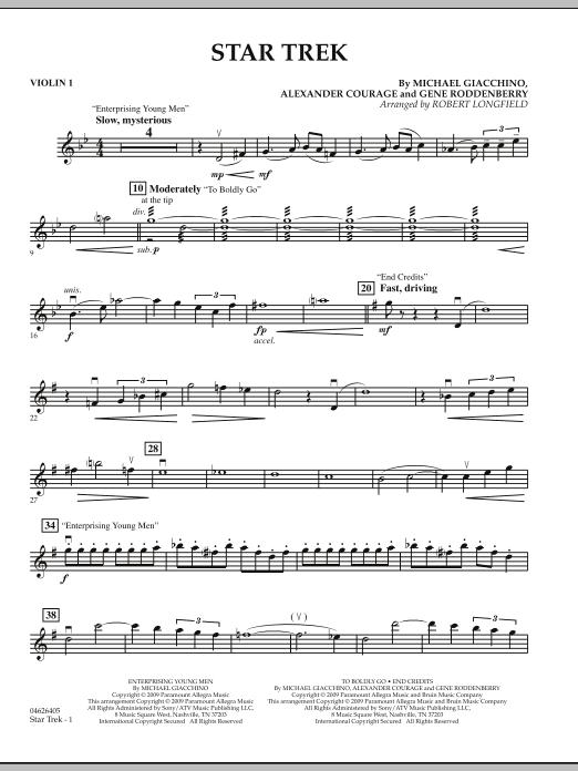 Star Trek - Violin 1 (Orchestra)