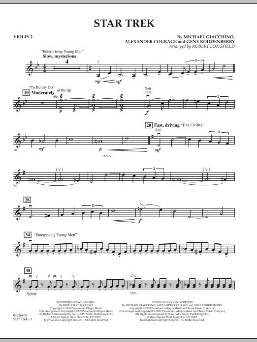Star Trek - Violin 2 (Orchestra)