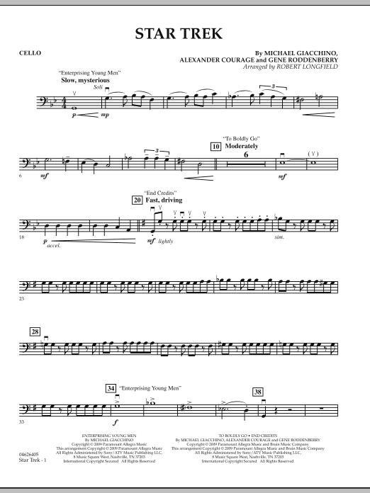 Star Trek - Cello (Orchestra)