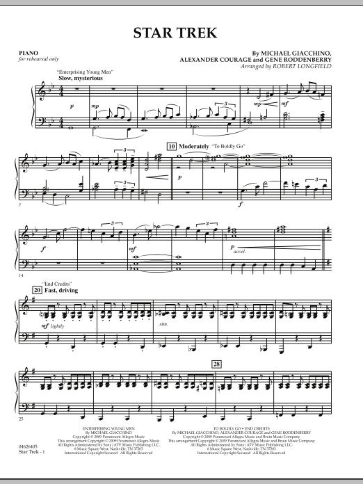 Star Trek - Piano (Orchestra)
