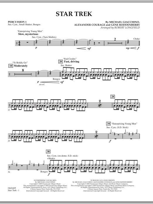 Star Trek - Percussion 1 (Orchestra)