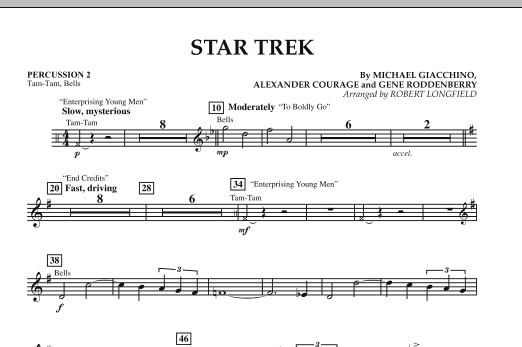 Star Trek - Percussion 2 (Orchestra)