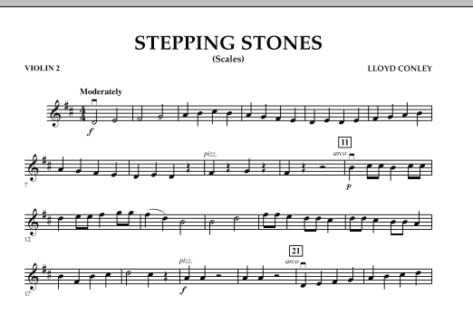 Stepping Stones - Violin 2 (Orchestra)