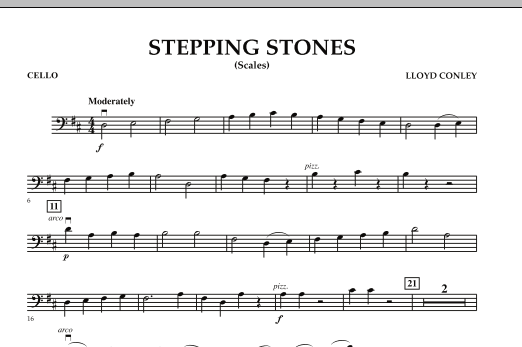 Stepping Stones - Cello (Orchestra)