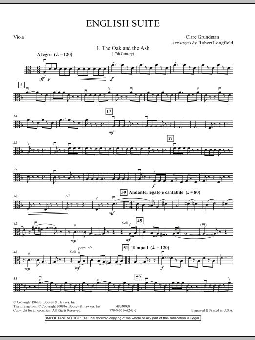 English Suite - Viola (Orchestra)
