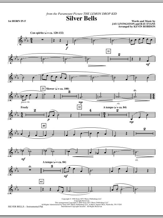 Silver Bells - F Horn 1 Sheet Music