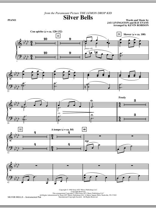 Silver Bells - Piano Sheet Music