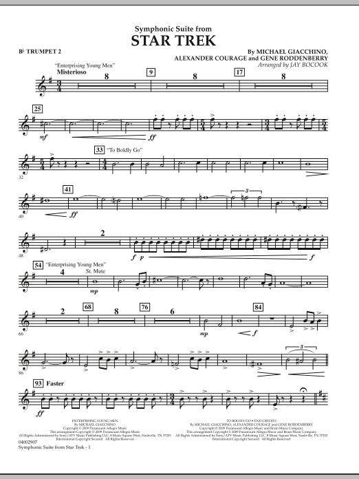 Symphonic Suite from Star Trek - Bb Trumpet 2 (Concert Band)