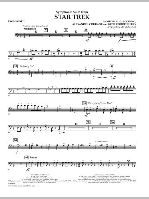 Symphonic Suite from Star Trek - Trombone 2 (Concert Band)