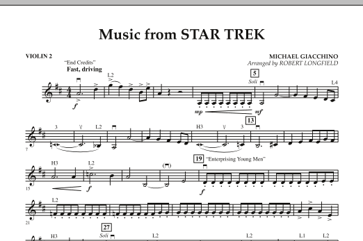 star trek and violin solo essay Four songs of solitude violin four last songs wikipedia, the four last songs (german: vier letzte lieder), op posth, for soprano and orchestra are with the exception of the song malven (mallows).