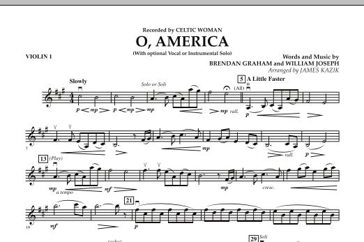 O, America - Violin 1 (Orchestra)
