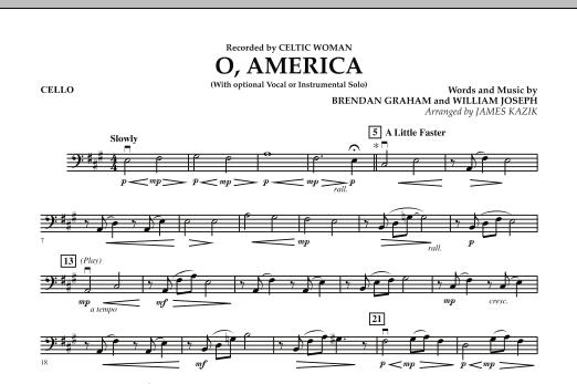 O, America - Cello (Orchestra)