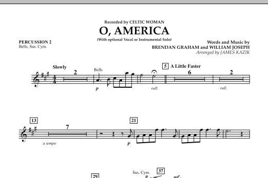 O, America - Percussion 2 (Orchestra)