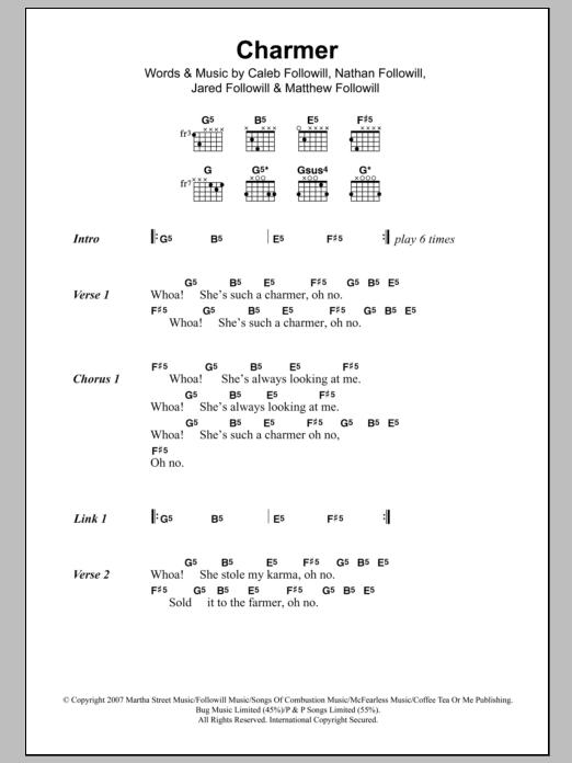 Charmer Sheet Music