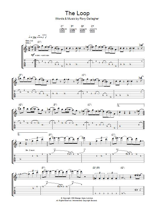 The Loop (Guitar Tab)