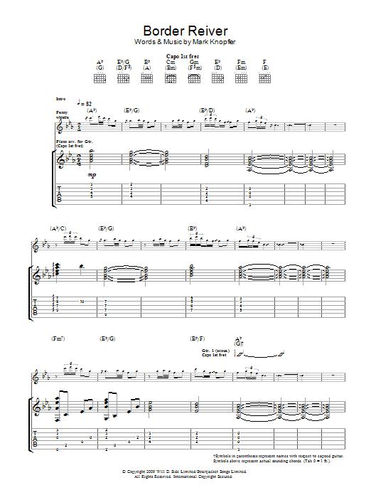 Border Reiver (Guitar Tab)