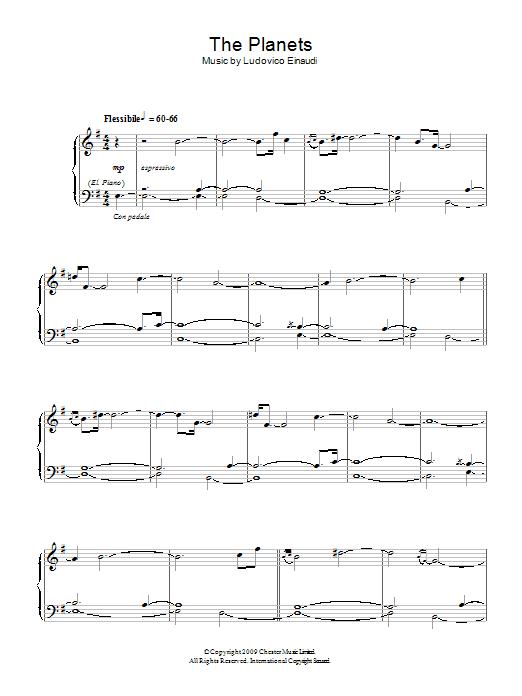 The Planets (Piano Solo)