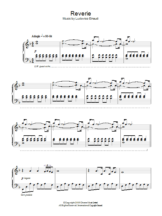 Reverie Sheet Music