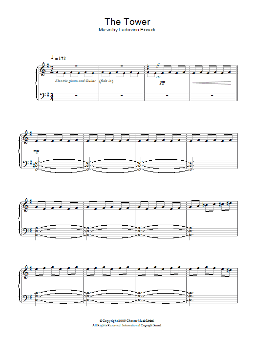 The Tower Sheet Music