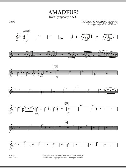 Amadeus! - Oboe (Full Orchestra)