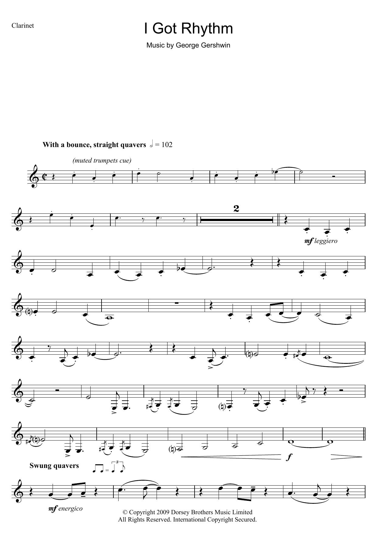 I Got Rhythm Sheet Music