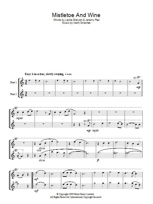 Mistletoe And Wine Sheet Music