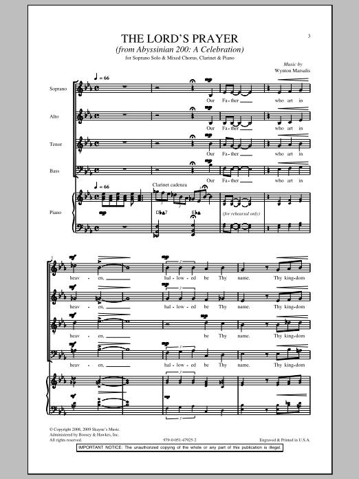 The Lord's Prayer (SATB Choir)