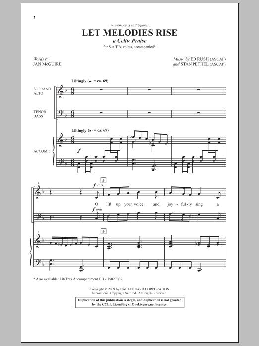 Let Melodies Rise (A Celtic Praise) Sheet Music