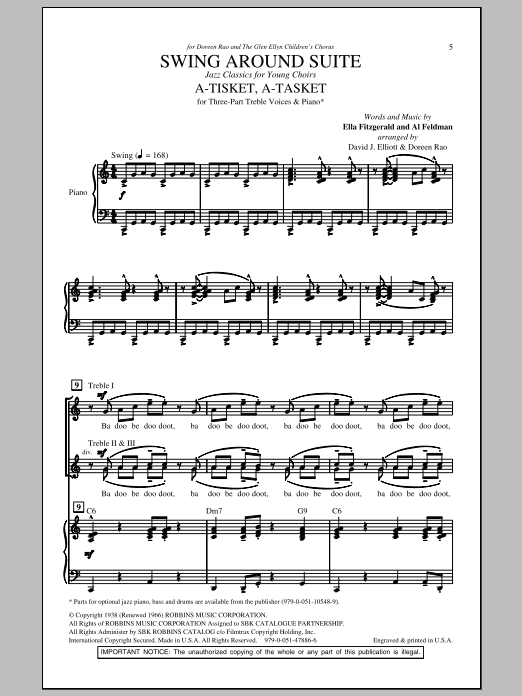Swing Around Suite (arr. David Elliott) Sheet Music