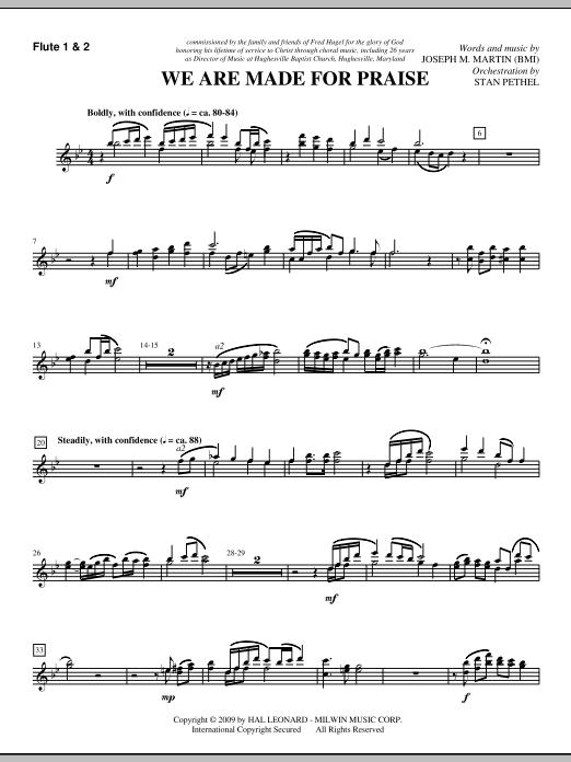 We Are Made For Praise - Flute 1 & 2 (Choir Instrumental Pak)