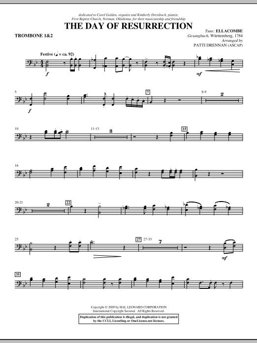 The Day Of Resurrection - Trombone 1 & 2 (Choir Instrumental Pak)
