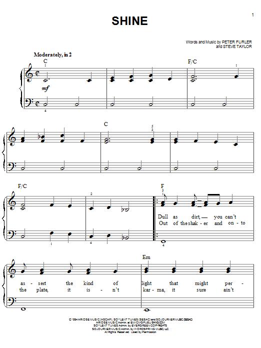 Shine (Easy Piano)