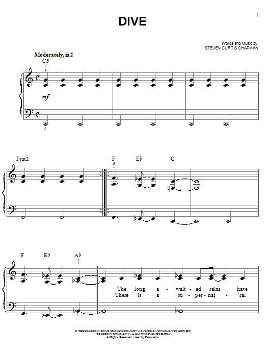 Dive (Easy Piano)