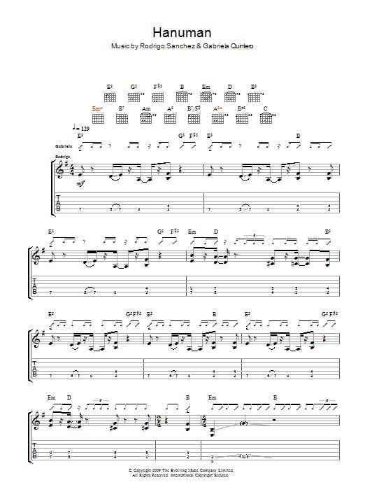 Hanuman Sheet Music