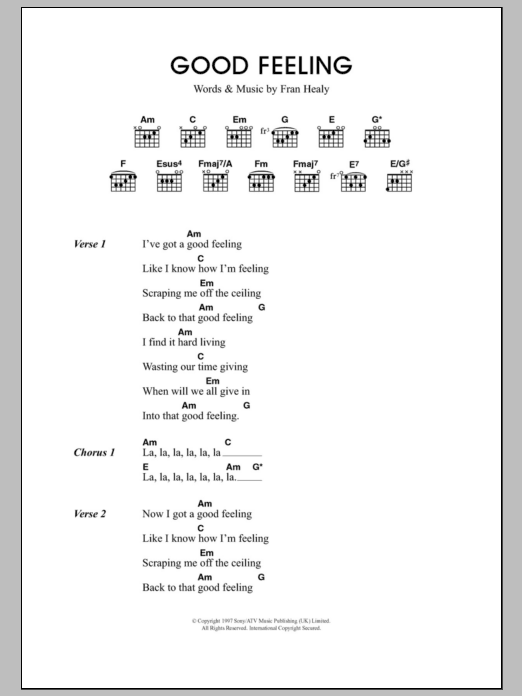 Guitar chords of who