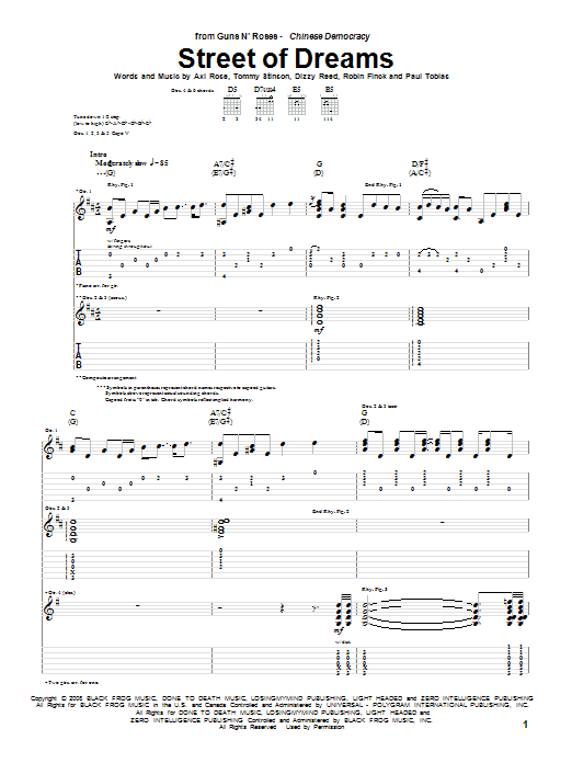 Street Of Dreams Sheet Music