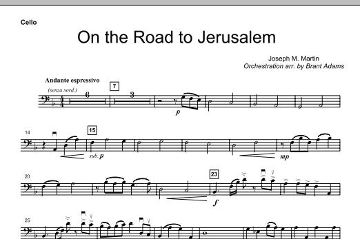 On The Road To Jerusalem - Cello (Choir Instrumental Pak)