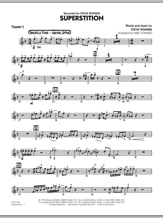 Superstition - Trumpet 2 (Jazz Ensemble)