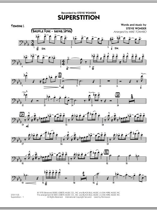 Superstition - Trombone 1 (Jazz Ensemble)